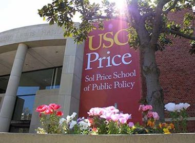 outside usc price building
