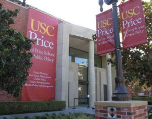 Outside view of usc price